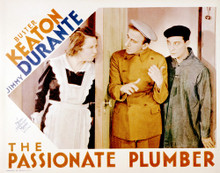 This is an image of Vintage Reproduction Lobby Card of The Passionate Plumber 296284