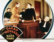 This is an image of Vintage Reproduction Lobby Card of Mata Hari 296293