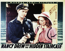 This is an image of Vintage Reproduction Lobby Card of Nancy Drew and the Hidden Staircase 296294