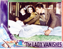 This is an image of Vintage Reproduction Lobby Card of The Lady Vanishes 296295