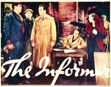 This is an image of Vintage Reproduction Lobby Card of The Informer 296297