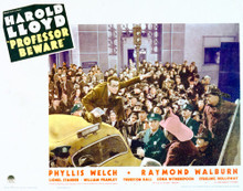 This is an image of Vintage Reproduction Lobby Card of Professor Beware 296304
