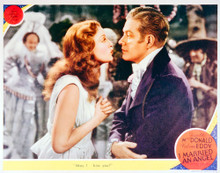 This is an image of Vintage Reproduction Lobby Card of I Married an Angel 296307