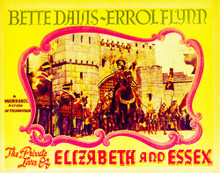 This is an image of Vintage Reproduction Lobby Card of The Private Lives of Elizabeth and Essex 296311