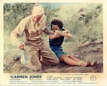 This is an image of Vintage Reproduction Lobby Card of Carmen Jones 296879