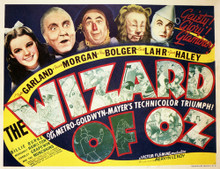 This is an image of Vintage Reproduction Lobby Card of The Wizard of Oz 296349