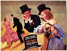 This is an image of Vintage Reproduction Lobby Card of Top Hat 296354
