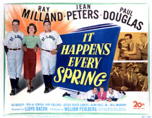 This is an image of Vintage Reproduction Lobby Card of It Happens Every Spring 296359