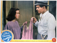 This is an image of Vintage Reproduction Lobby Card of Comrade 296361