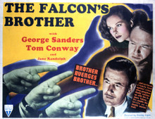 This is an image of Vintage Reproduction Lobby Card of The Falcon's Brother 296391