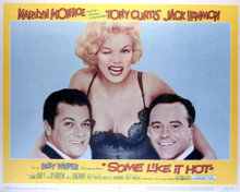 This is an image of Vintage Reproduction Lobby Card of Some Like It Hot 296392