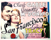 This is an image of Vintage Reproduction Lobby Card of San Francisco 296394