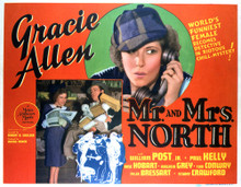 This is an image of Vintage Reproduction Lobby Card of Mr. and Mrs. North 296396