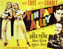 This is an image of Vintage Reproduction Lobby Card of Tin Pan Alley 296400