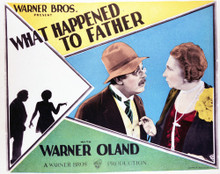 This is an image of Vintage Reproduction Lobby Card of What Happened to Father 296408
