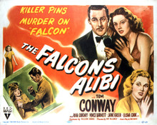 This is an image of Vintage Reproduction Lobby Card of The Falcon's Alibi 296410