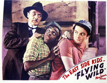 This is an image of Vintage Reproduction Lobby Card of Flying Wild 296411