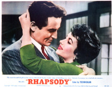 This is an image of Vintage Reproduction Lobby Card of Rhapsody 296412