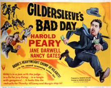 This is an image of Vintage Reproduction Lobby Card of Gildersleeve's Bad Day 296421