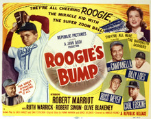 This is an image of Vintage Reproduction Lobby Card of Roogie's Bump 296436