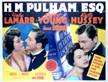 This is an image of Vintage Reproduction Lobby Card of Hm Pulham Esq 296450