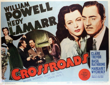 This is an image of Vintage Reproduction Lobby Card of Crossroads 296454