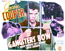 This is an image of Vintage Reproduction Lobby Card of Gangster Boy 296469