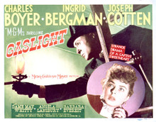 This is an image of Vintage Reproduction Lobby Card of Gaslight 296480