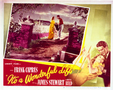 This is an image of Vintage Reproduction Lobby Card of It's a Wonderful Life 296485