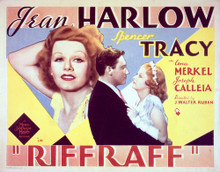 This is an image of Vintage Reproduction Lobby Card of Riffraff 296502
