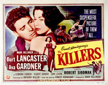 This is an image of Vintage Reproduction Lobby Card of The Killers 1946 296504