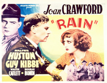 This is an image of Vintage Reproduction Lobby Card of Rain 296505