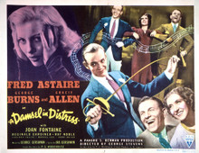 This is an image of Vintage Reproduction Lobby Card of A Damsel in Distress 296513