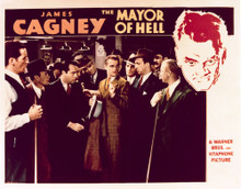This is an image of Vintage Reproduction Lobby Card of The Mayor of Hell 296514