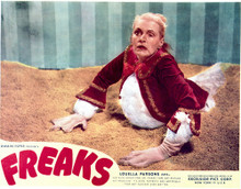 This is an image of Vintage Reproduction Lobby Card of Freaks 296529