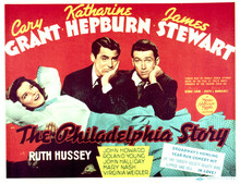 This is an image of Vintage Reproduction Lobby Card of The Philadelphia Story 297236