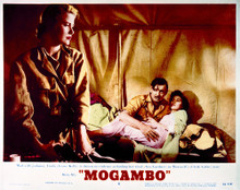 This is an image of Vintage Reproduction Lobby Card of Mogambo 297237