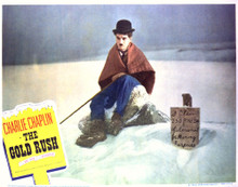 This is an image of Vintage Reproduction Lobby Card of The Gold Rush 296901