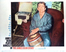This is an image of Vintage Reproduction Lobby Card of James Dean Story 296909
