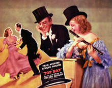 This is an image of Vintage Reproduction Lobby Card of Top Hat 296911