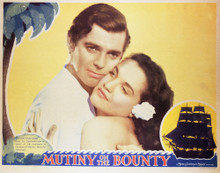 This is an image of Vintage Reproduction Lobby Card of Mutiny on the Bounty 1935 296932