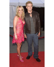 This is an image of Photograph & Poster of Britney Spears and Justin Timberlake 250880