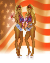 This is an image of Photograph & Poster of Barbi Twins 253953