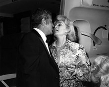 This is an image of 197914 Dean Martin and Zsa Zsa Gabor Photograph & Poster