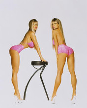 This is an image of Photograph & Poster of Barbi Twins 246332
