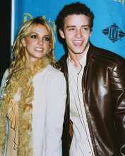 This is an image of Photograph & Poster of Britney Spears and Justin Timberlake 250428