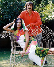 This is an image of Photograph & Poster of Sonny and Cher 228965