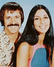 This is an image of Photograph & Poster of Sonny and Cher 246844