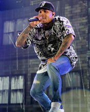 This is an image of Photograph & Poster of Chris Brown 298381