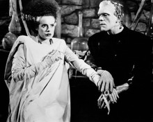 This is an image of Photograph & Poster of Bride of Frankenstein 103197